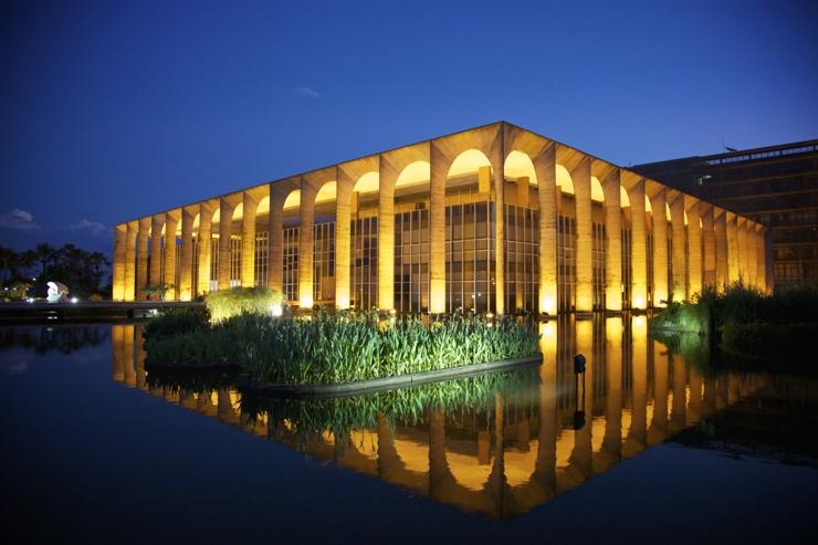 palacio do itamaraty conhecer Brasília