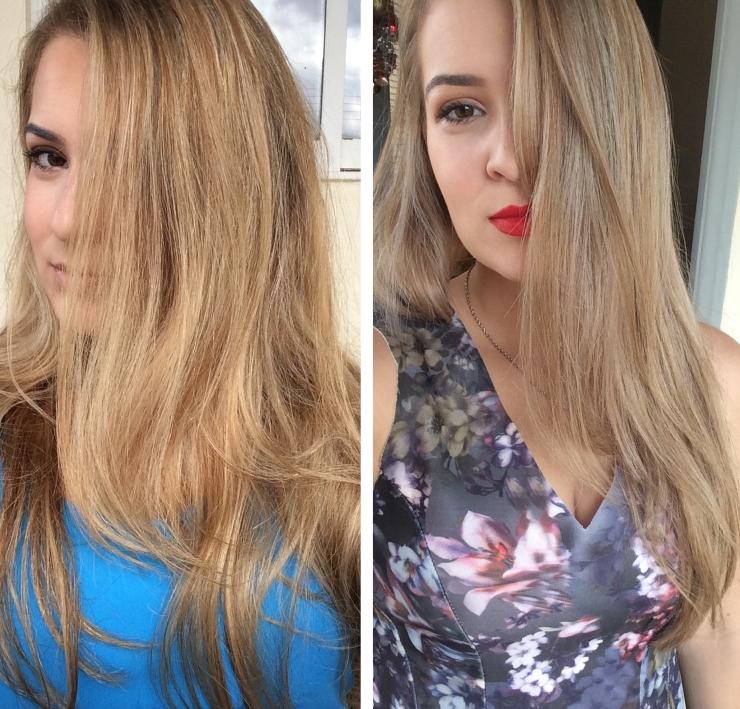 tonalizante color intense prata resultado antes e depois
