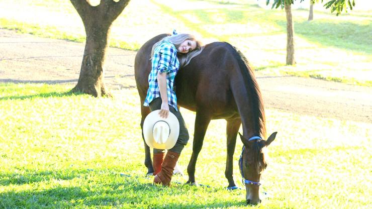 look do dia bota bombacha cavalo