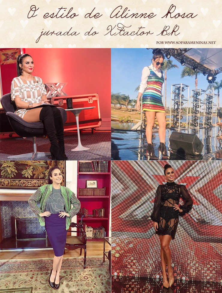 O estilo de Alinne Rosa, jurada do XFactor Brasil