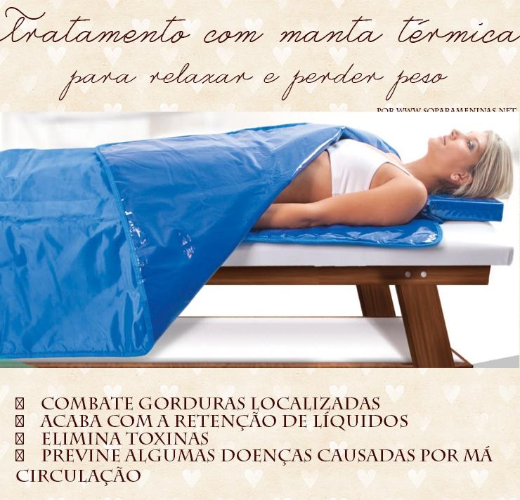 tratamento com manta térmica