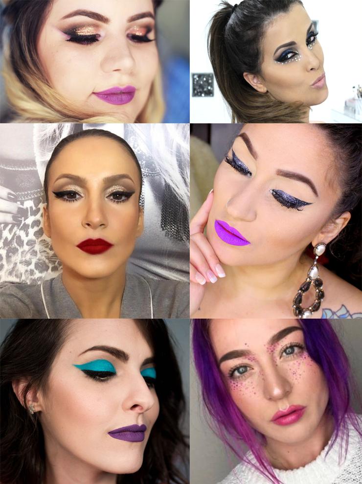 maquiagem para o carnaval 2017 só para meninas