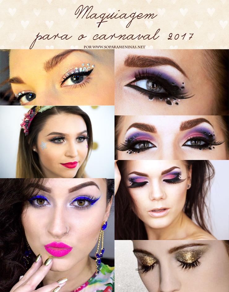 maquiagem para o carnaval 2017