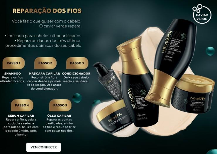 Nativa SPA terapia do caviar kit só para meninas