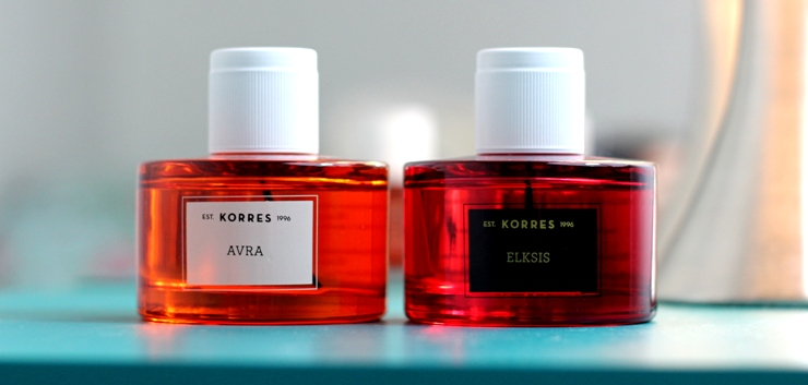 perfumes korres avra e elksis
