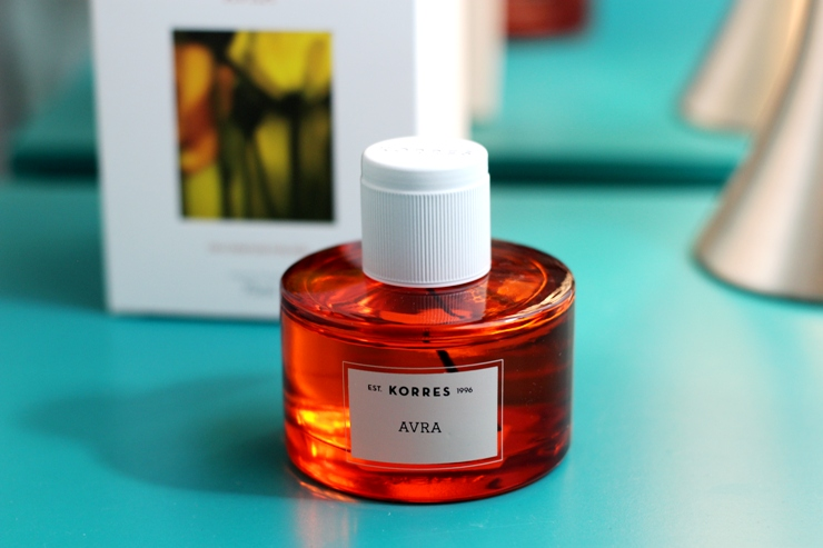 perfumes korres avra