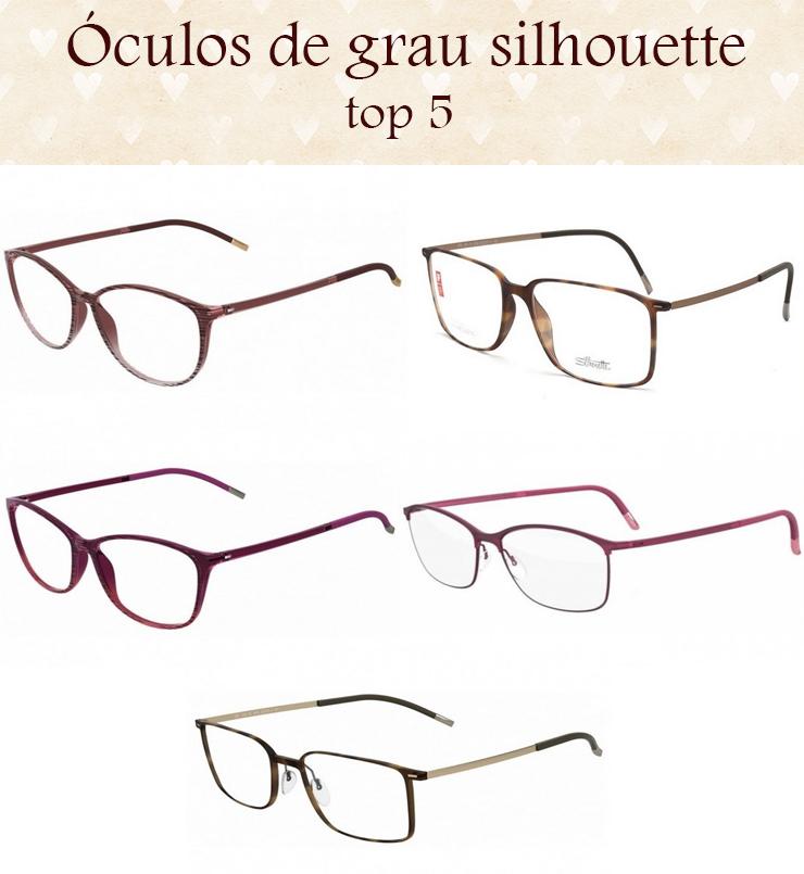 oculos de grau silhouette