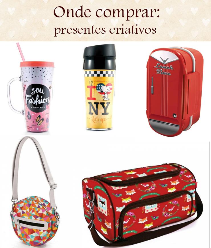 onde comprar presentes criativos