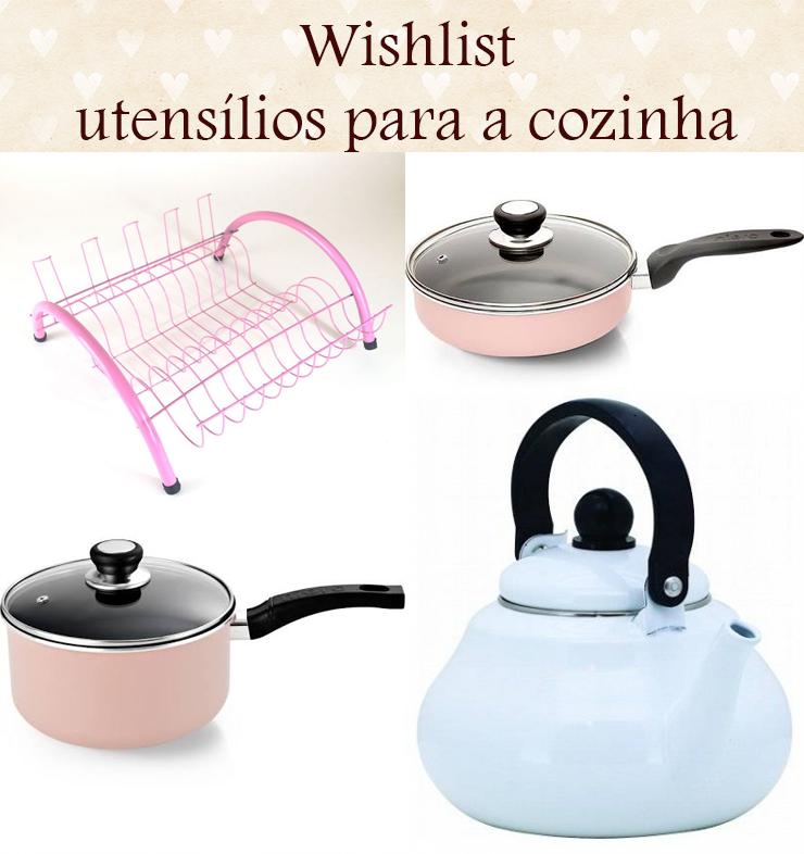 wishlist utensílios para a cozinha