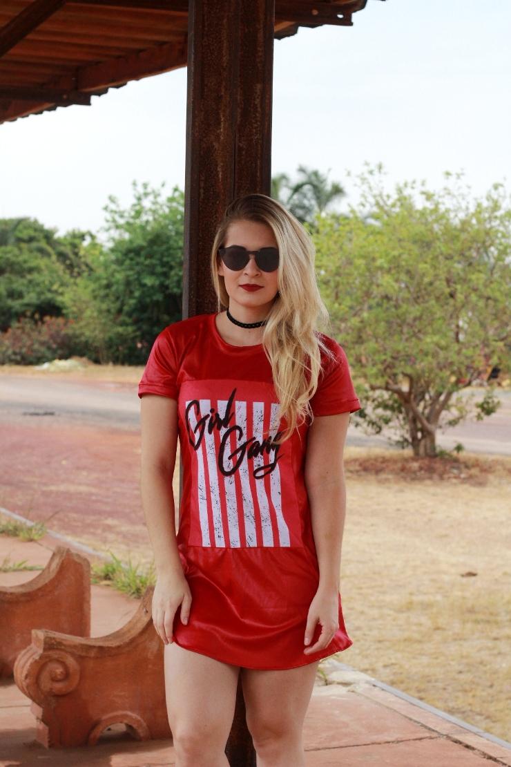 look do dia vestido vermelho amy brasília