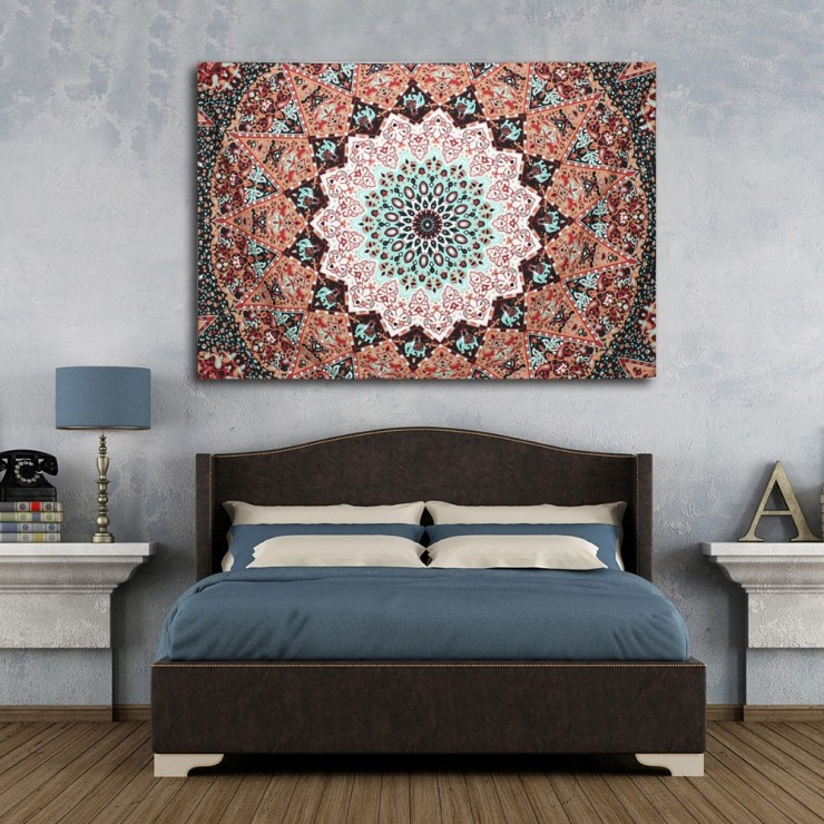 decoração inspirada na india