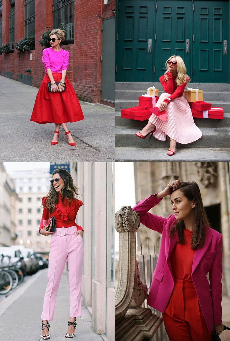 tendencias do verão 2018 vermelho e rosa