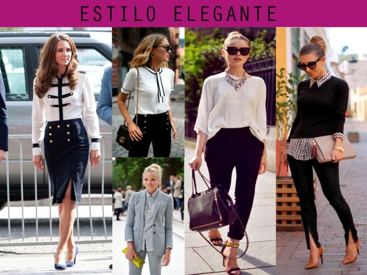 os 7 estilos universais estilo elegante