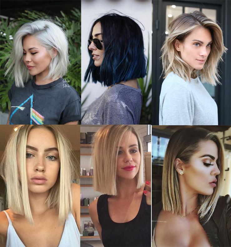 cortes de cabelo para 2018 assimetrico