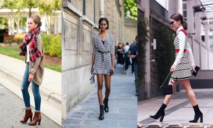 como usar botas femininas bota de cano curto look