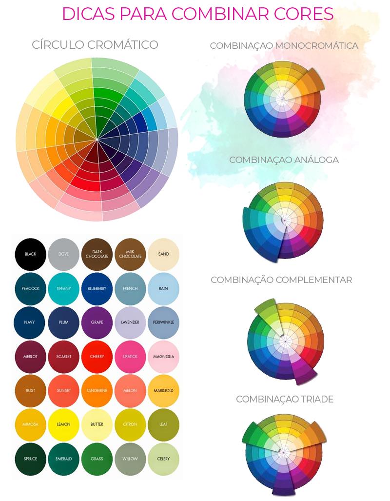 dicas para combinar cores como combinar diferentes cores looks moda