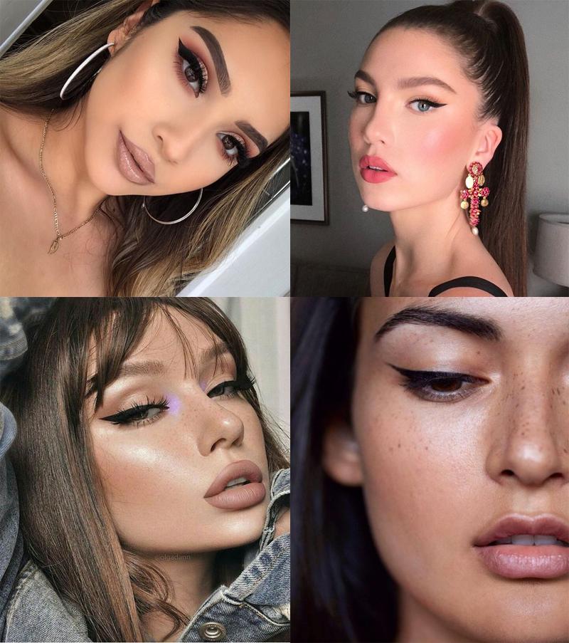 maquiagem para o natal 2019 delineador