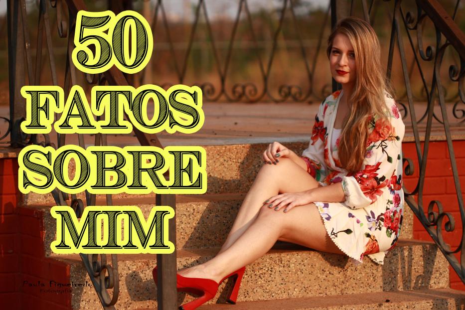 50 fatos sobre mim só para meninas rafaelli antes