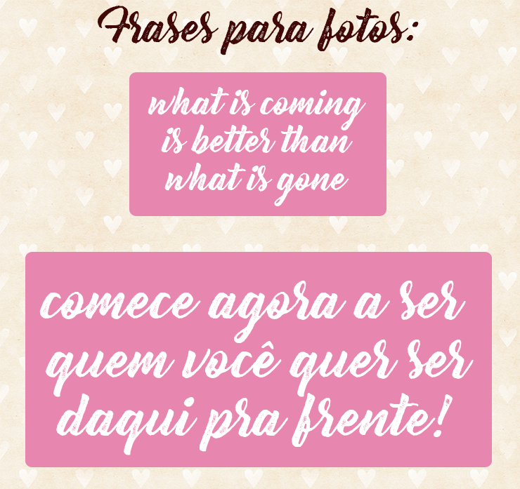 frases para fotos do instagram