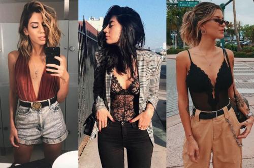 Moda feminina como usar looks com body